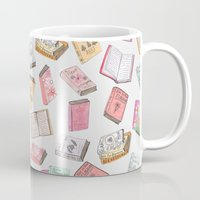 books Mugs featuring Books by Abby Galloway