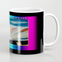 bible verses Mugs featuring THE BIBLE by KEVIN CURTIS BARR'S ART OF FAMOUS FACES