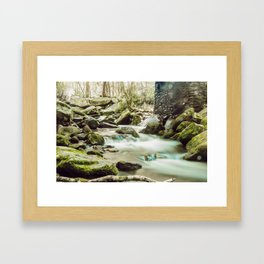 Streams of Tennessee Framed Art Print