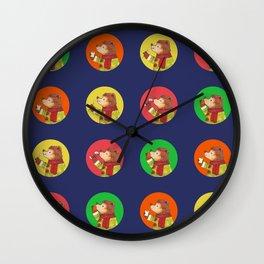 Hungry season Wall Clock