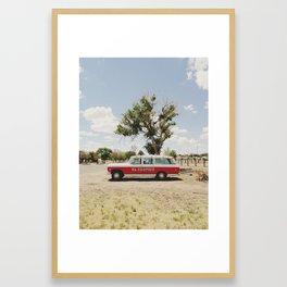 The El Cosmico Framed Art Print
