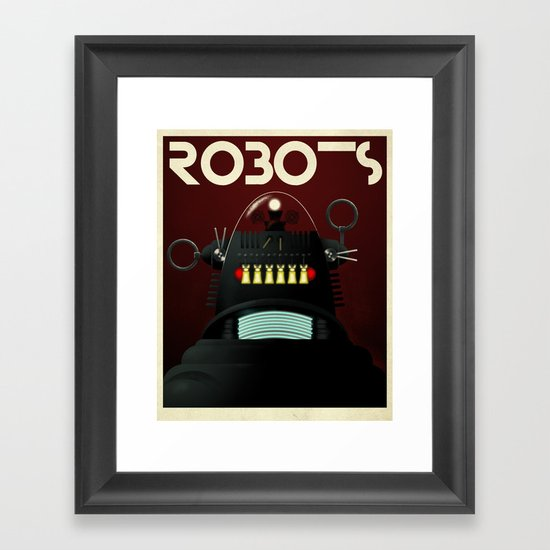 Robots - Robby Framed Art Print
