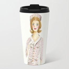 Coco and the Pillbox Hat Travel Mug