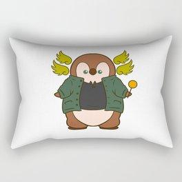 Supernatural Archangel Gabriel Penguin Rectangular Pillow