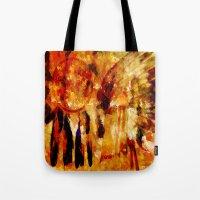 dreamcatcher Tote Bags featuring Dreamcatcher by valzart