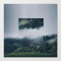 witchoria Canvas Prints featuring I get nervous.  by witchoria
