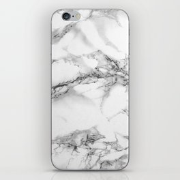 Marble - Gray iPhone Skin