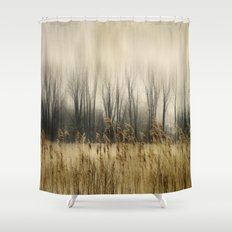 Marsh Edge Shower Curtain