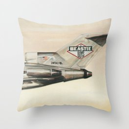 Beastie - Licensed to Ill -  Boys Throw Pillow