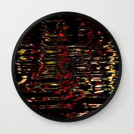 River Lights Wall Clock