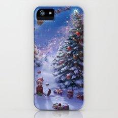 Xmas Tree Slim Case iPhone (5, 5s)