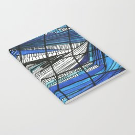 Black and blues Notebook