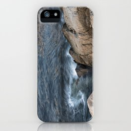 Swirling ocean iPhone Case