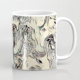 Texture Overlay Abstract Design Coffee Mug