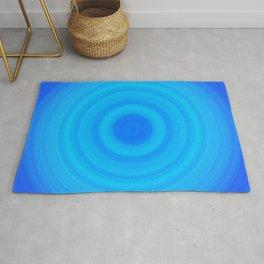 Blue Circles Rug