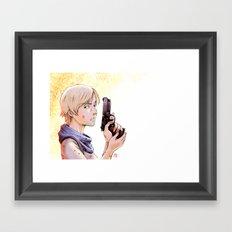Resident Evil - Sherry Tribute Framed Art Print