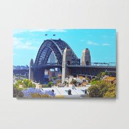 Sydney in Spring Metal Print