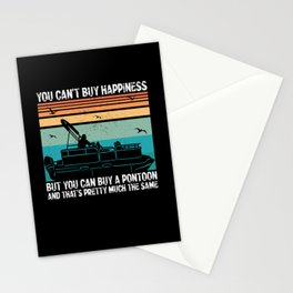 Pontoon Boat Captain | Buy A Pontoon Stationery Cards