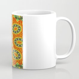 Kaleidoscope of Bold Orange Gazanias  Coffee Mug