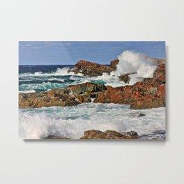 Tempestuous Cape Bonavista, Newfoundland Metal Print
