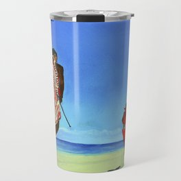 You will see me flying like a wild rain... (Me verás volar... como lluvia salvaje) Travel Mug