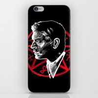 supernatural iPhone & iPod Skins featuring Supernatural by Grace Mutton