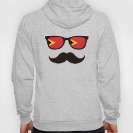 East Timor Hipster T Shirt Hoody