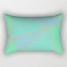 Green Dreams Rectangular Pillow