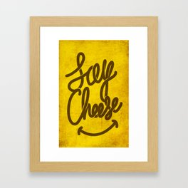 Cheese ! Framed Art Print