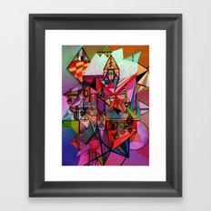 Fête Framed Art Print