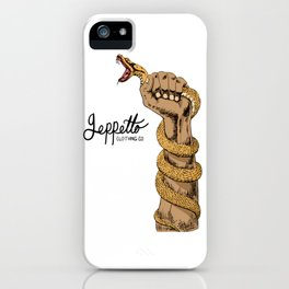 Geppetto Don't Tread iPhone Case
