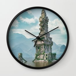 Lost in Time Wall Clock