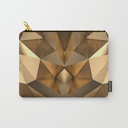 GEOMETRIC GOLD Carry-All Pouch