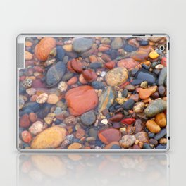 Beach Stones Along Lake Superior Laptop & iPad Skin