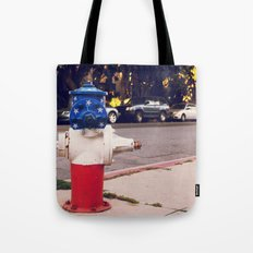 Hydrant National ∫ Living Los Angeles Tote Bag