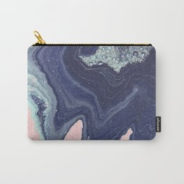 Fluid No. 11 - Geode Carry-All Pouch