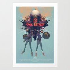 Oh, yeah... Art Print
