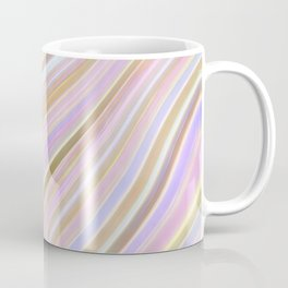 MIld Wavy Lines V Coffee Mug