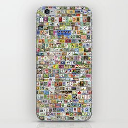 Soccer Stamps iPhone Skin