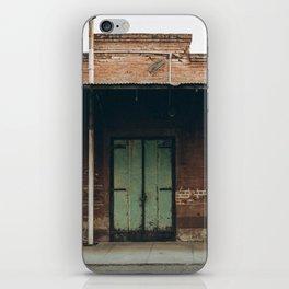 green doors iPhone Skin