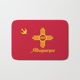 Flag of Albuquerque Bath Mat