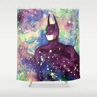 bat Shower Curtains featuring bat by Beth Jorgensen