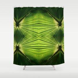 Palmetto Prism Shower Curtain
