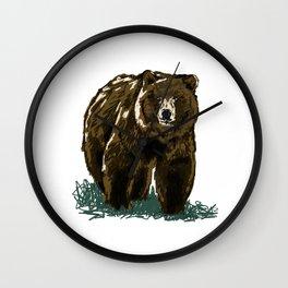 Dah Bear Wall Clock