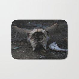 Cow Skull Bath Mat