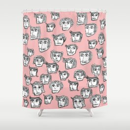 People are watching -4- Shower Curtain