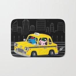 Taxi Ride Bath Mat