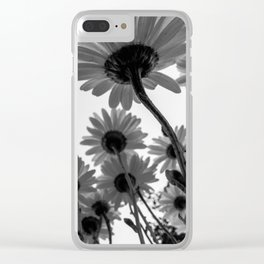 Below The Daisies Clear iPhone Case