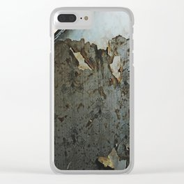 Pooley Street Stairwell Clear iPhone Case