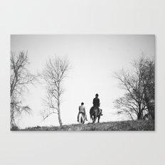 Horse Riders Canvas Print